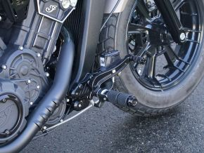 Forward Positioning Kit for OE Foot Controls Indian Scout Bobber