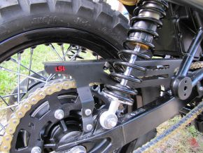 Triumph Scrambler Chain guard