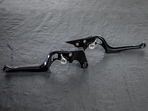 Brake Lever 2Stripes Triumph Bonneville Bobber / Black