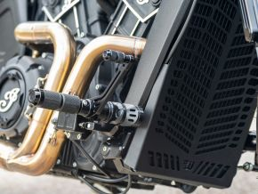 Radiator Cover Indian Scout Bobber