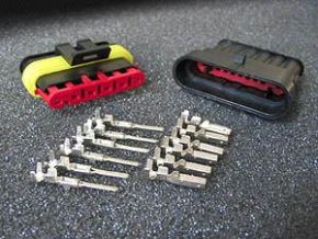 Plug Connector Kit 6-pin AMP style