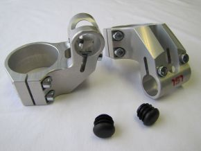 Clamps, Offset High Clip-Ons